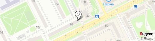 Банкомат, Северный народный банк, ПАО на карте Сыктывкара
