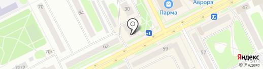 Совкомбанк, ПАО на карте Сыктывкара