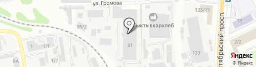 СушиРолл на карте Сыктывкара