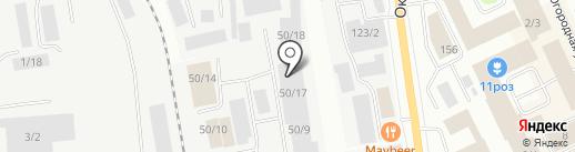 Экстра на карте Сыктывкара