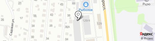 Купец на карте Сыктывкара