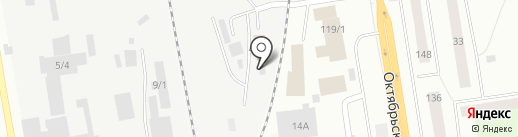 Промхолдинг на карте Сыктывкара