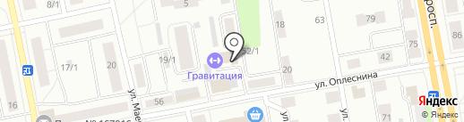 Сапфир на карте Сыктывкара