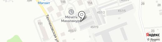 Reference на карте Сыктывкара