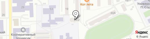 РаКурс на карте Сыктывкара
