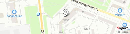 Сеть магазинов табачной продукции на карте Сыктывкара