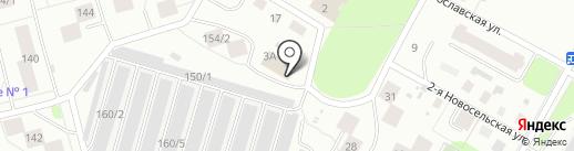 Табакерка на карте Сыктывкара