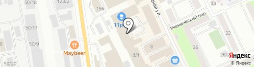 Мебель 11RUS на карте Сыктывкара