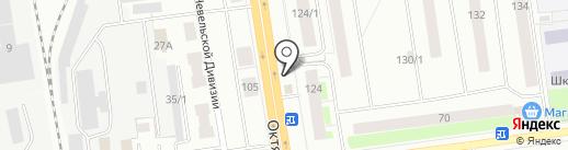 Автодонар на карте Сыктывкара