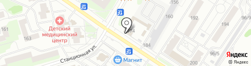 Магазин овощей и фруктов на карте Сыктывкара