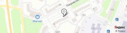 Федерация эстетической гимнастики на карте Сыктывкара