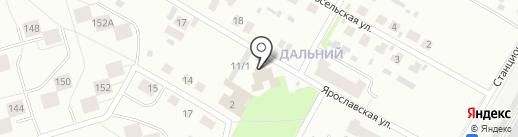 Земля на карте Сыктывкара