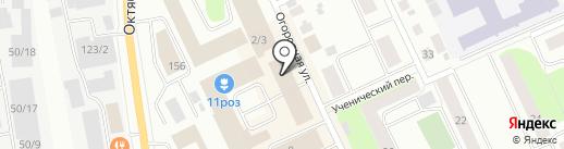 Адвокатский кабинет Сбитнева В.М. на карте Сыктывкара