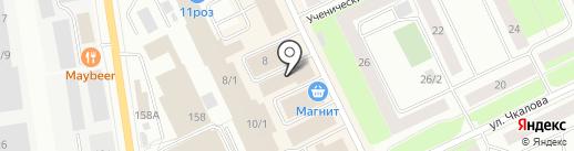 Робинзон на карте Сыктывкара