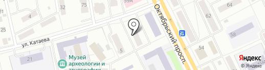 Коми республиканский наркологический диспансер, ГБУ на карте Сыктывкара