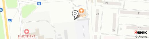 Орбита на карте Сыктывкара