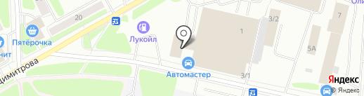 АМбар на карте Сыктывкара