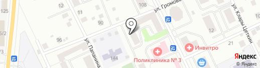 Громова-57, ТСЖ на карте Сыктывкара