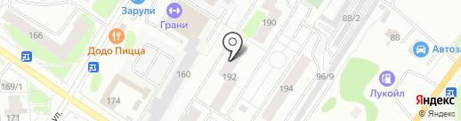 Русская роща на карте Сыктывкара