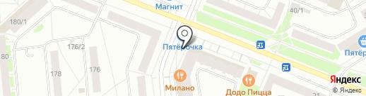 Пивная на карте Сыктывкара