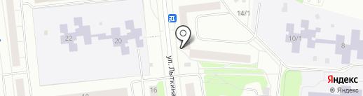 Централизованная библиотечная система, МБУК на карте Сыктывкара