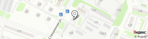 Контакт Мастер на карте Сыктывкара