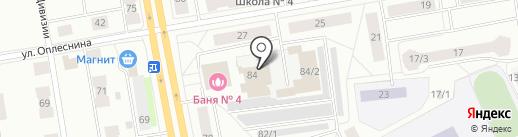 Сыктывкарские тепловые сети на карте Сыктывкара