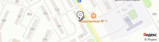 Ателье по пошиву и ремонту одежды на карте Сыктывкара