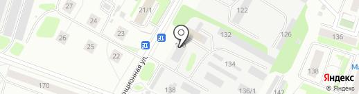Окна Престиж на карте Сыктывкара