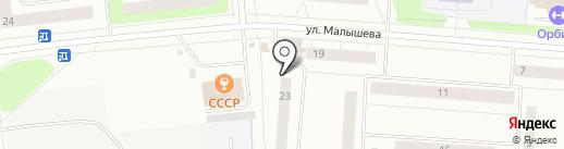 Северный народный банк, ПАО на карте Сыктывкара