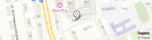 Пробег на карте Сыктывкара