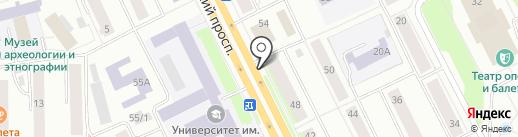 Кафе на карте Сыктывкара