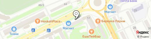 City Casual на карте Сыктывкара