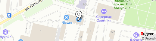 Трафик на карте Сыктывкара