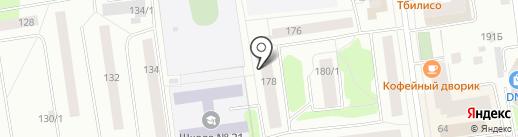 Сыктывкар3D на карте Сыктывкара