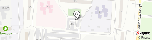 БОКС №1 на карте Сыктывкара