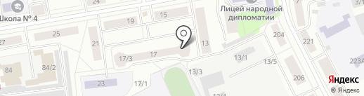 Элегия на карте Сыктывкара