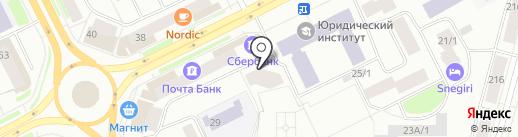 Furor на карте Сыктывкара