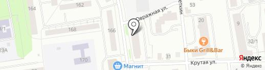 Лилия на карте Сыктывкара