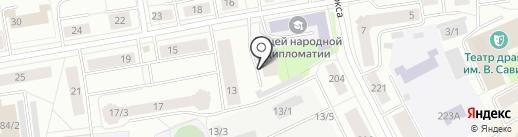 ATMOSFERA на карте Сыктывкара
