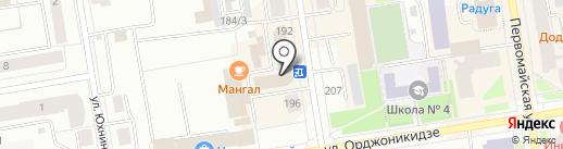 Служба помощи студентам на карте Сыктывкара