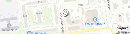 Poltava на карте Сыктывкара