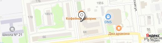 My Love на карте Сыктывкара