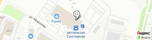 Your style на карте Сыктывкара