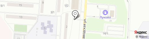 КРИСТАЛЛ-ЭЛЕКТРОЦЕНТР на карте Сыктывкара