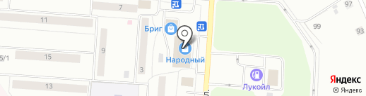 Конфетка на карте Сыктывкара