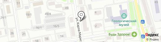 Автоюрист 24.про на карте Сыктывкара