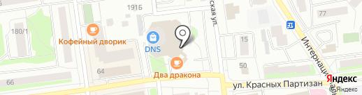 Remix на карте Сыктывкара
