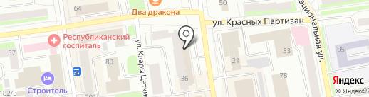 Элит на карте Сыктывкара
