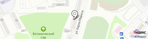 Адвокатский кабинет Мулина В.Н. на карте Сыктывкара